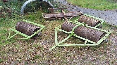 Field/paddock rollers flat ring/cambridge & ballast tractor type from £150 DEVON