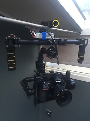 Came TV 7800 3 Axis (DSLR) Gimbal with Thumb Controller + 3 Batteries