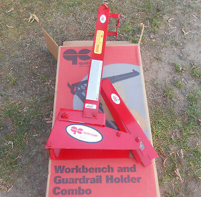 Qual-Craft Workbench Guardrail Holder Combo 2204 Roofing Tools Accessory