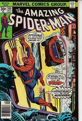Amazing Spider-Man #160-161-167-168-169 Nice Bronze Age Lot Of 5 Books