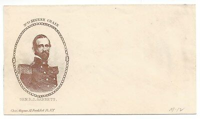 Union Civil War Patriotic Cover Unused - Magnus Bronze No 12 Secesh Chain