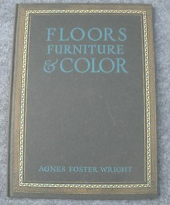 1924 Floors Furniture and Color Catalog by Armstrong Lancaster PA