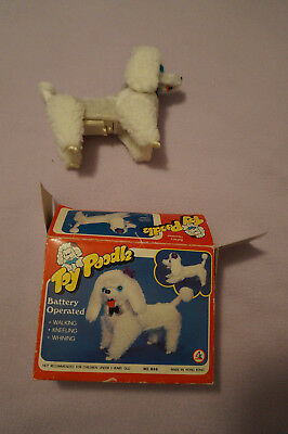 Vintage Toy Poodle Battery Operated