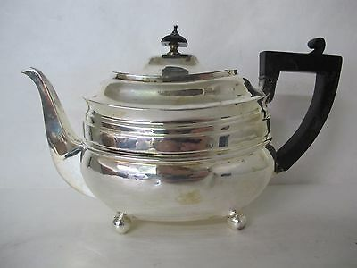 Stunning English George Iii Sterling Silver Teapot