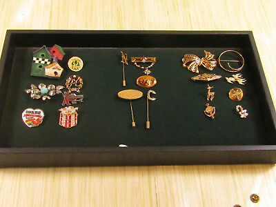 Costume Jewelry Brooch Pin Lot AS IS Gold Tone Present Avon Sticks X Games