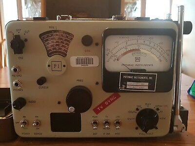 Potomac Instruments Field Strength Meter Model FIM-71 WITH CASE