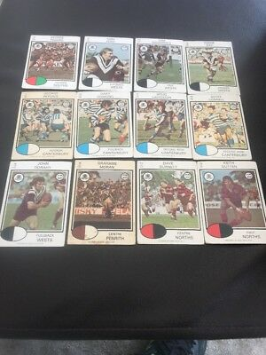 1975 Rugby League Trading Cards