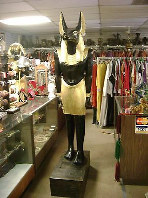 Large Life Size Egyptian God Anubis Or Osirs Or  Sobek  $3999.00  Each
