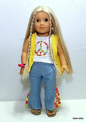 Julie - American Girl - Wearing One Of Her Original Outfits