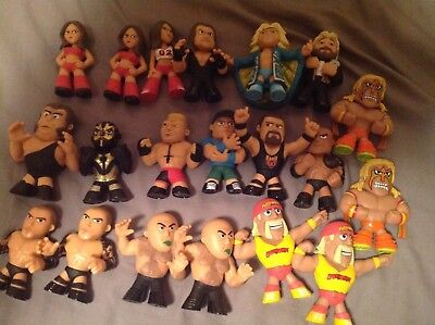 20 mystery mini WWE Funko lot John Cena undertaker Ric Flair Hulk Hogan