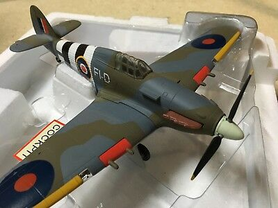 Franklin Mint Armour Collection / RAF Hurricane MK IIC F1D-RAF.  No Reserve!