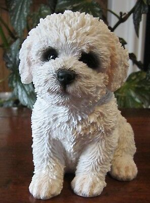 New Pet Pals Bichon Frise Puppy Figurine