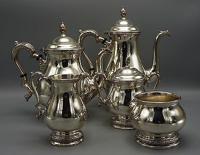 Magnificent International Silver 5 Piece 1939 Sterling Silver Tea Set