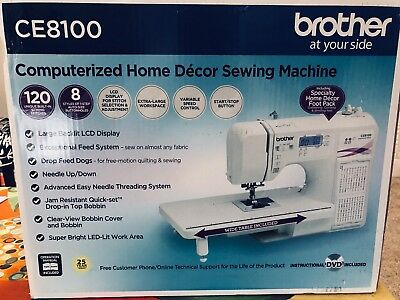 BROTHER CE40 40STITCH Computerized Home Decor Sewing And Fascinating Brother Ce8100 Sewing Machine