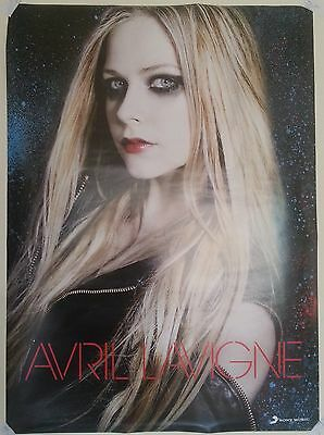 Avril Lavigne Asian Tour Edition TAIWAN UNFOLDED PROMO POSTER
