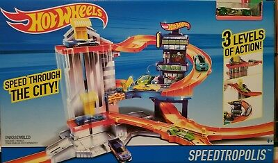 Hot Wheels Speedtropolis Toy Set