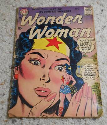 Vintage May 1957 DC Wonder Woman Comic Book Issue #90 Silver Age