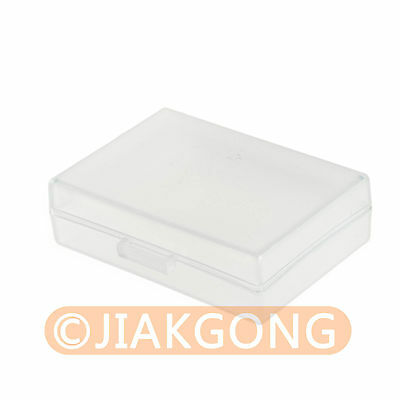 White Hard Plastic Case Holder Storage Box for Battery EN-EL14 EN-EL9 PSBLS1....