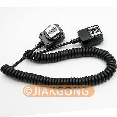 DSLRKIT 3M 3 meter E-TTL Off Camera FLASH sync Cable Cord for Canon+
