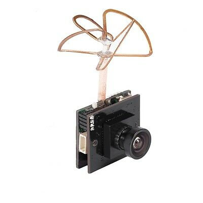 FPV Camera 48 CH 800 TVL Built-in Transmitter 5.8G 25/200/600mW Switchable