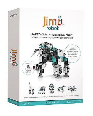*Ships fast from Canada* UBTECH Jimu Robot Inventor Kit Block Building & Coding