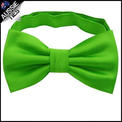 Apple Kelly Green Boys Bow Tie Boy's bowtie kids junior