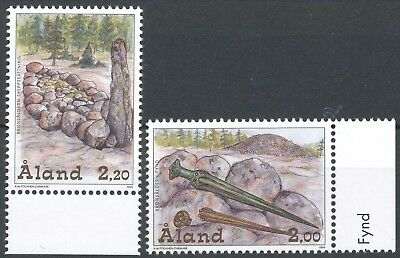 Aland Finland 1999 MNH Set (2) - The Bronze Age - Archaeology