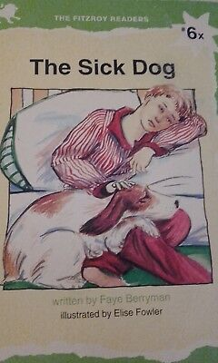 THE FITZROY READERS  6x  The sick dog  Phonics  short 'o' sound book