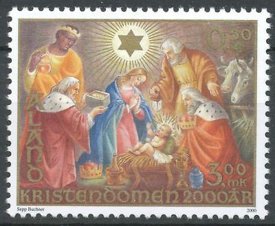 Aland Finland 2000 MNH - Christianity 2000 Years - Baby Jesus - Mary - Joseph