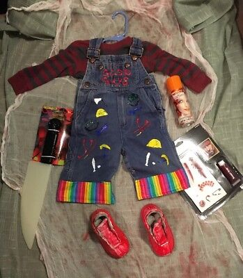 Chucky Good Guy Kids Complete Costume 12 Months
