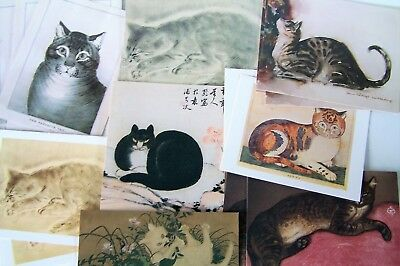 CAT Paintings Blank Note Cards Metropolitan Museum Of Art 17 Cards MMA CARDS