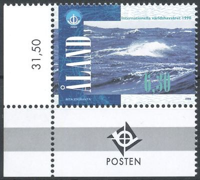 Aland Finland 1998 MNH - International Year of Oceans - Sea