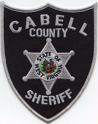 Cabell County West Virginia Wv Sheriff Police Patch