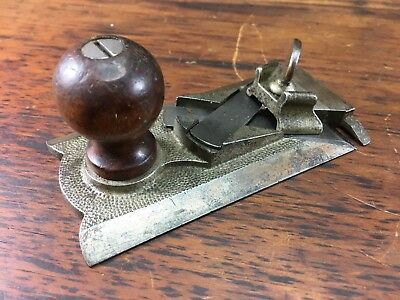 RARE VINTAGE SARGENT VBM No.81 SIDE RABBET PLANE EXCELLENT CONDITION