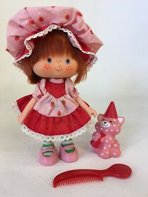 Vintage 1980s Strawberry Shortcake- Party Pleaser Strawberry Shortcake & Custard