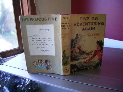 Five Go Adventuring Again By Enid Blyton  Hbdj  1971  Famous Five