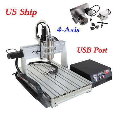 New Molde CNC Router 6040 2200W Spindle Engraver Engraving Milling Machine MACH3
