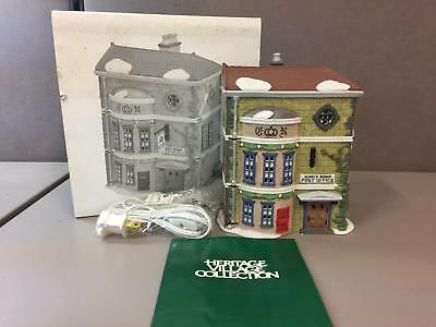 KING'S ROAD POST OFFICE, DICKENS VILLAGE #58017, Dept. 56, IN ORIGINAL BOX