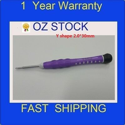 NEW 1xTri-point Screw Driver Y Shape 0.6mm x25mm for iPhone 7 & 7 Plus purple