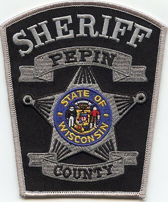 PEPIN COUNTY WISCONSIN WI state seal SHERIFF POLICE PATCH