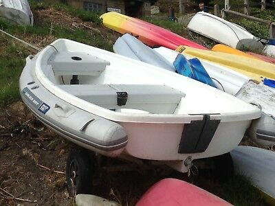 Used Walker Bay 10ft  Dinghy with performance sail kit  (see photos)