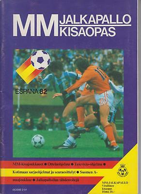 Rare World Cup SPAIN 1982 - offical Finland Edition