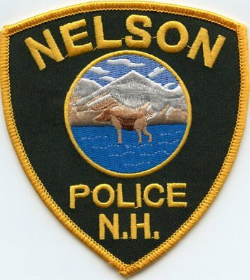 Nelson New Hampshire Nh Police Patch