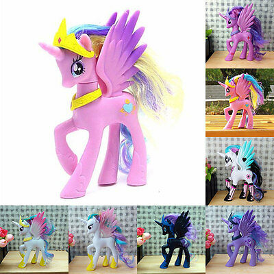 My Little Horse Princess Celestia Toys Dolls Luna Moon Kid Christmas Toys Gift