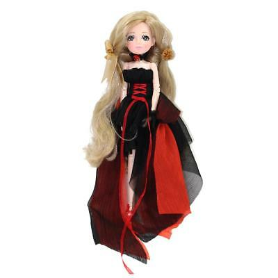 27cm 30 Joints Vinyl Body Doll Ball Jointed Doll for Kids Toy Birthday Gift