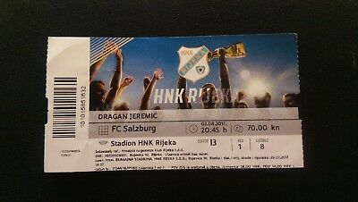 HNK Rijeka - FC Red Bull Salzburg UEFA Champions League Qualifying Ticket 2/8/17