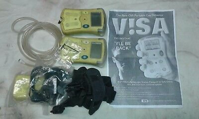 GMI Portable Gas Detector NOT IN BOX AND NO INSTRUCTION BOOK