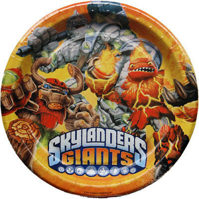Skylanders Party Pack (Plates, Cups, Napkins, Stickers etc)