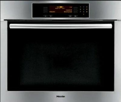 """Miele 28"""" Built-In Wall Electric Oven Stainless 208V H4780B Made In Germany"""