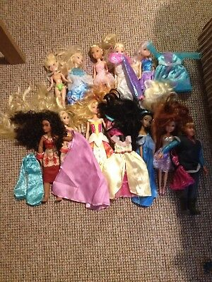 Large Bundle Barbie Style Dolls